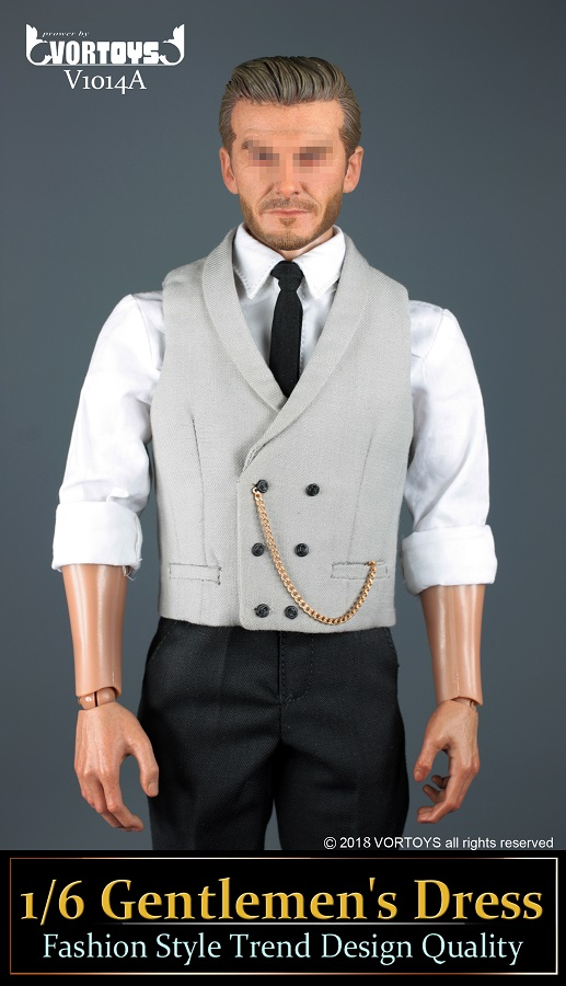 NEW PRODUCT: VORTOYS New Products: 1/6 British Gentleman Suit Dress Set - Royal Wedding Tricolor (V1014) 16455410