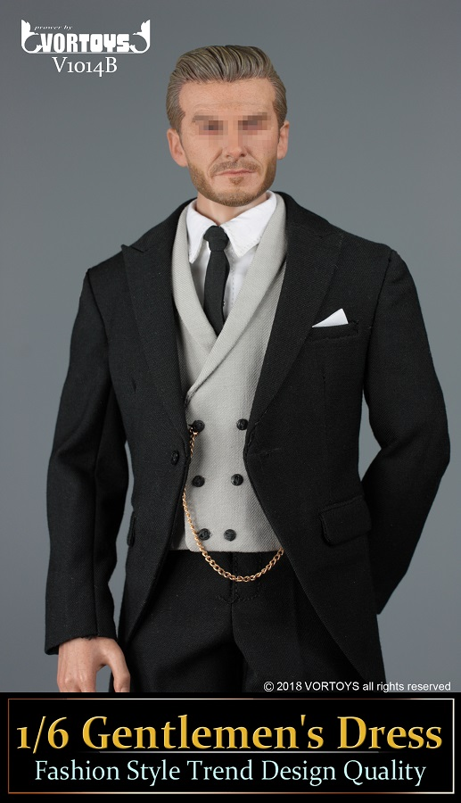 NEW PRODUCT: VORTOYS New Products: 1/6 British Gentleman Suit Dress Set - Royal Wedding Tricolor (V1014) 16455810