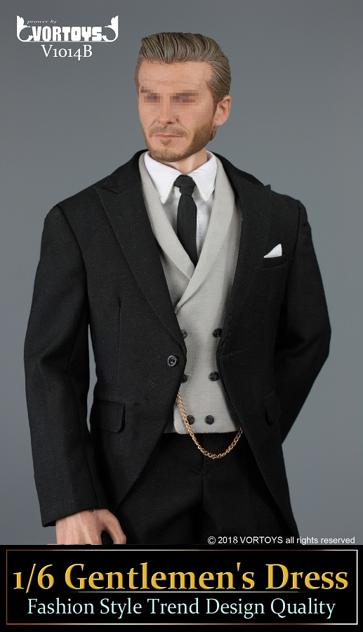 NEW PRODUCT: VORTOYS New Products: 1/6 British Gentleman Suit Dress Set - Royal Wedding Tricolor (V1014) 16455811