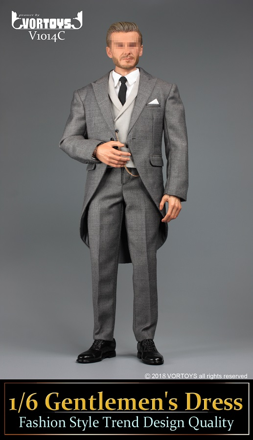 NEW PRODUCT: VORTOYS New Products: 1/6 British Gentleman Suit Dress Set - Royal Wedding Tricolor (V1014) 16455911