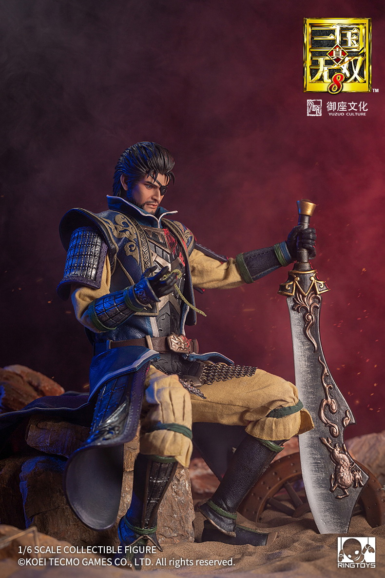 "male - NEW PRODUCT: RingToys: 1/6 scale Three Kingdoms Warriors 8"" series - Xiahou Yi figure 16460012"
