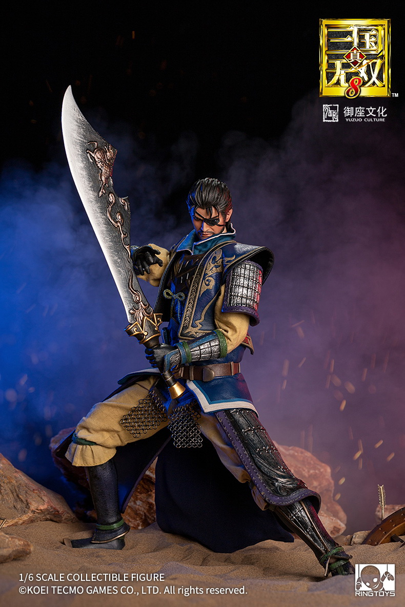 "male - NEW PRODUCT: RingToys: 1/6 scale Three Kingdoms Warriors 8"" series - Xiahou Yi figure 16461010"
