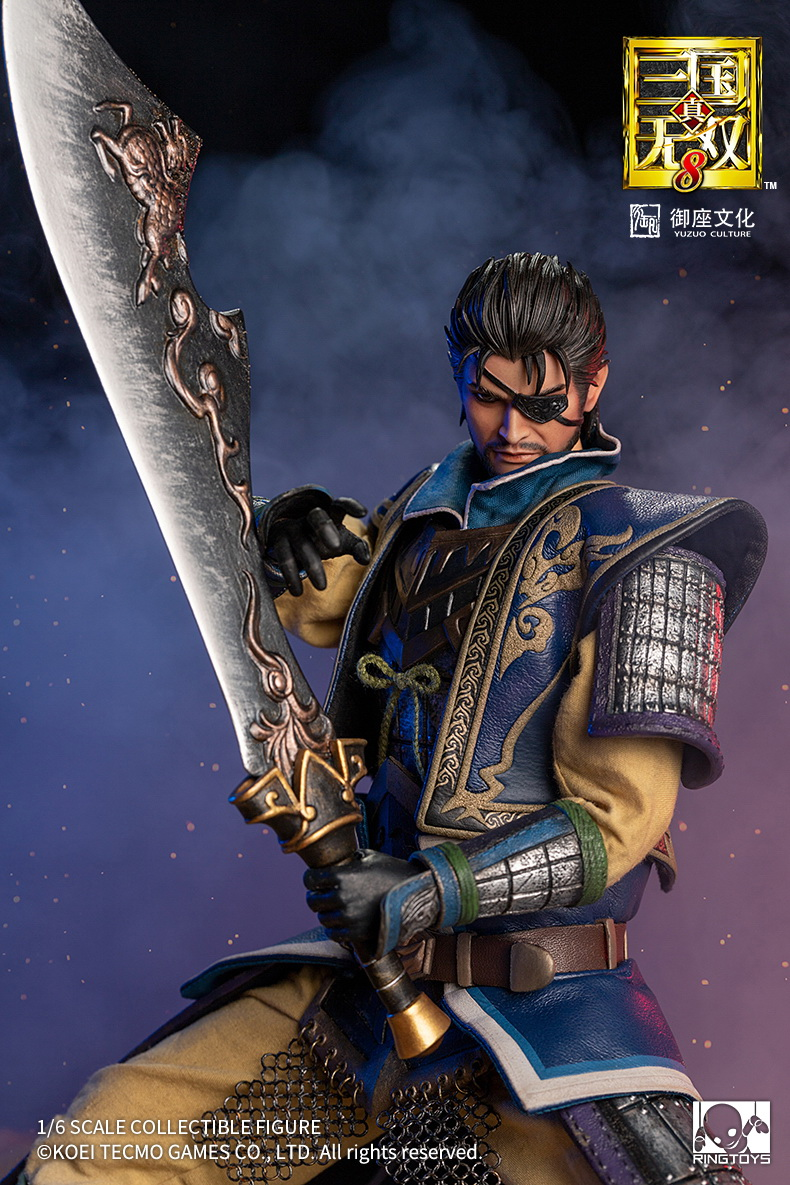 "male - NEW PRODUCT: RingToys: 1/6 scale Three Kingdoms Warriors 8"" series - Xiahou Yi figure 16461610"