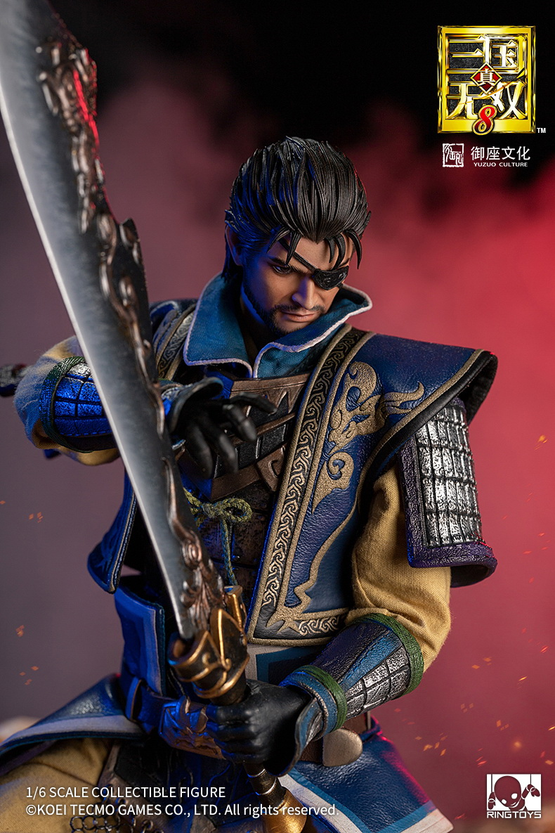 "NEW PRODUCT: RingToys: 1/6 ""True. Three Kingdoms Warriors 8"" series - Xiahou Yi action figure 16462211"