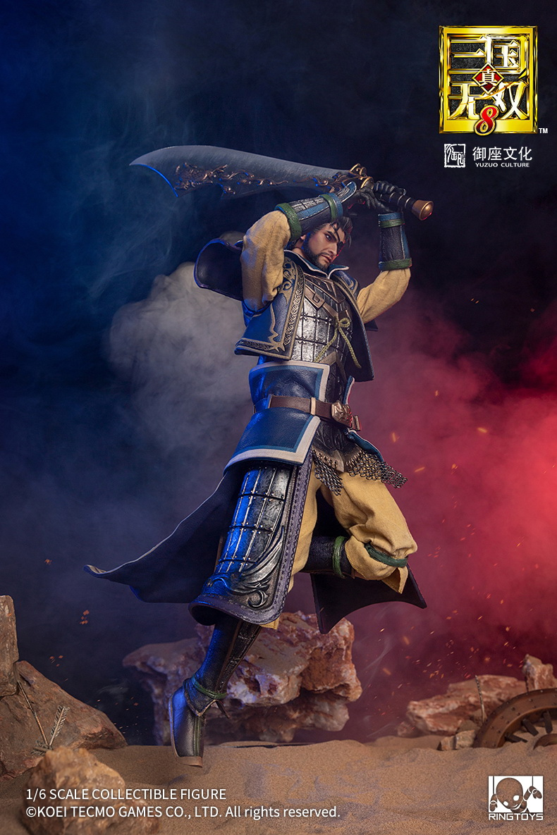 "male - NEW PRODUCT: RingToys: 1/6 scale Three Kingdoms Warriors 8"" series - Xiahou Yi figure 16462710"
