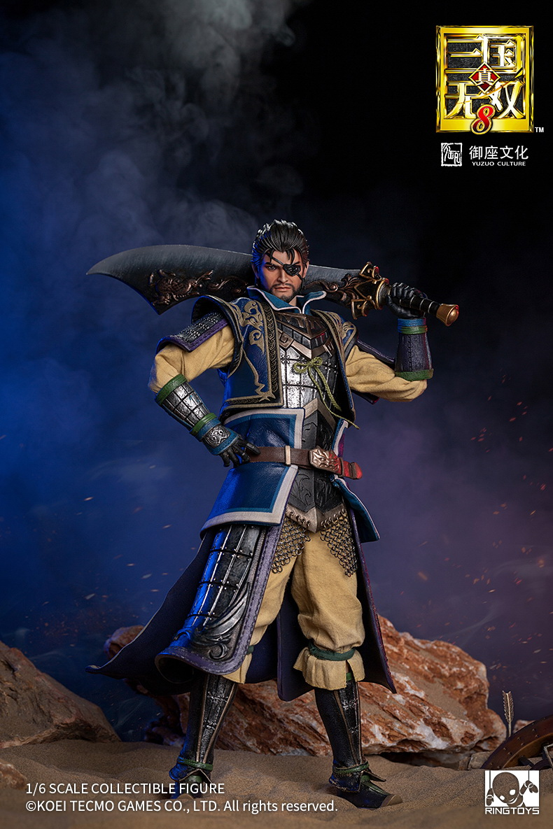 "NEW PRODUCT: RingToys: 1/6 ""True. Three Kingdoms Warriors 8"" series - Xiahou Yi action figure 16463311"