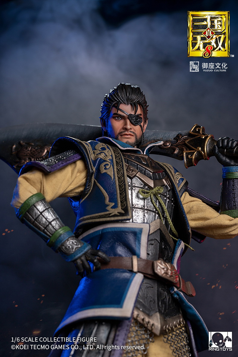 "male - NEW PRODUCT: RingToys: 1/6 scale Three Kingdoms Warriors 8"" series - Xiahou Yi figure 16464010"