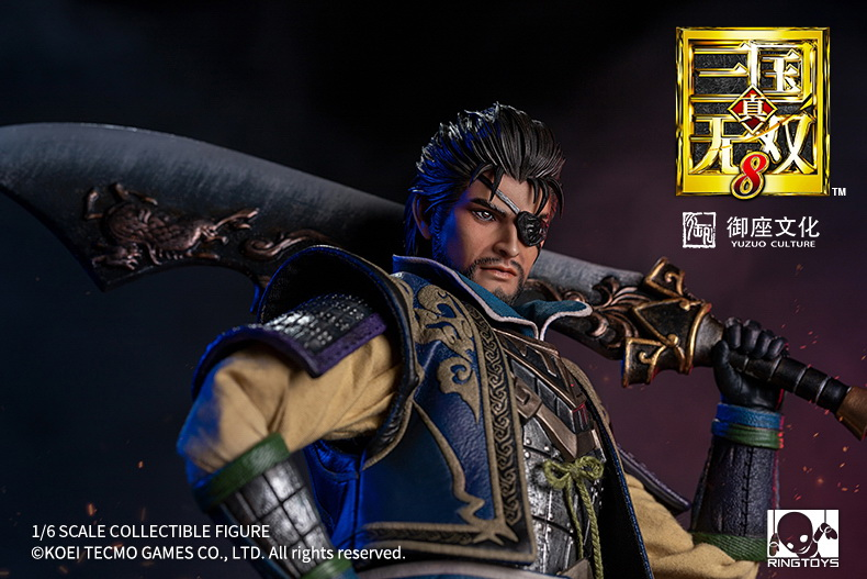"NEW PRODUCT: RingToys: 1/6 ""True. Three Kingdoms Warriors 8"" series - Xiahou Yi action figure 16464611"