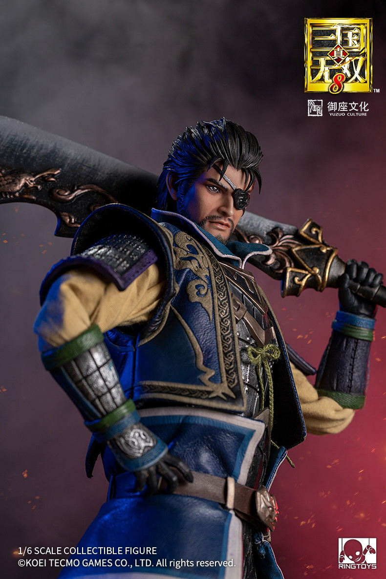 "male - NEW PRODUCT: RingToys: 1/6 scale Three Kingdoms Warriors 8"" series - Xiahou Yi figure 16465410"