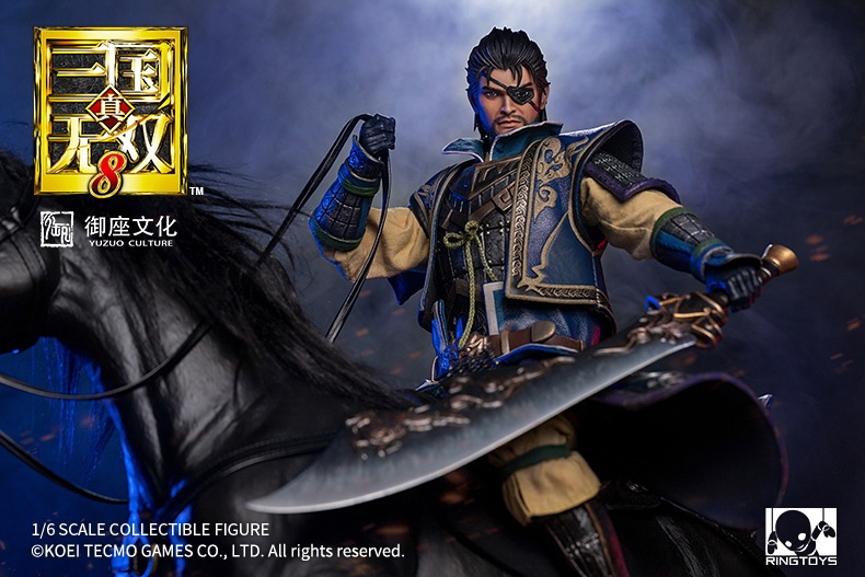 "NEW PRODUCT: RingToys: 1/6 ""True. Three Kingdoms Warriors 8"" series - Xiahou Yi action figure 16470011"