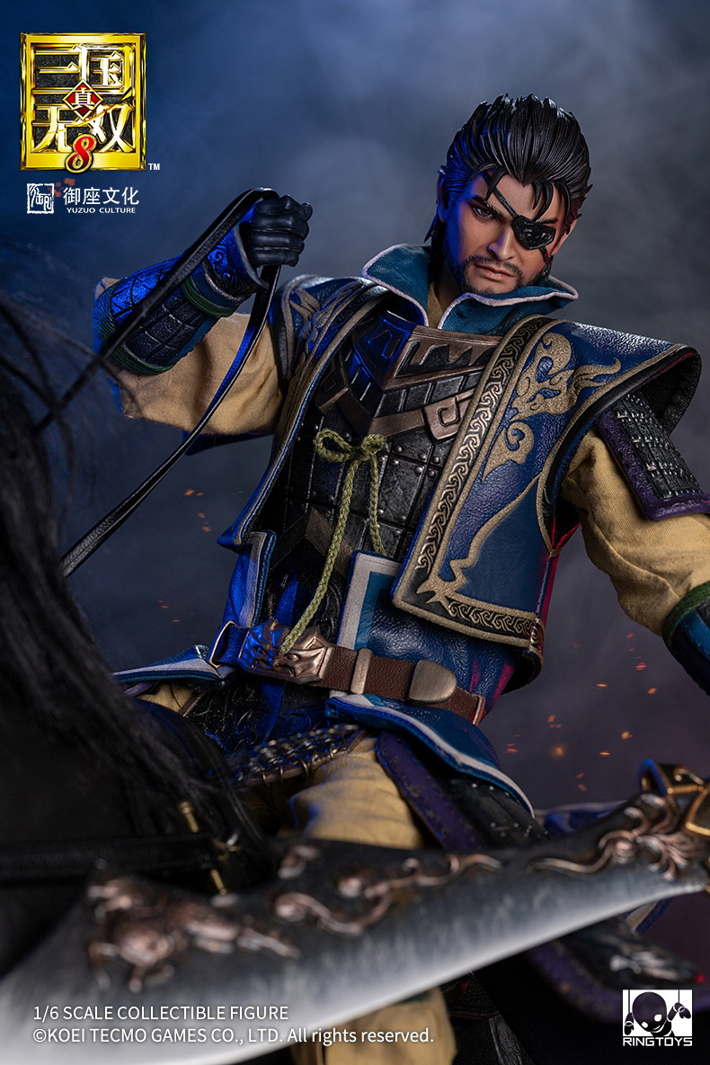 "NEW PRODUCT: RingToys: 1/6 ""True. Three Kingdoms Warriors 8"" series - Xiahou Yi action figure 16470811"