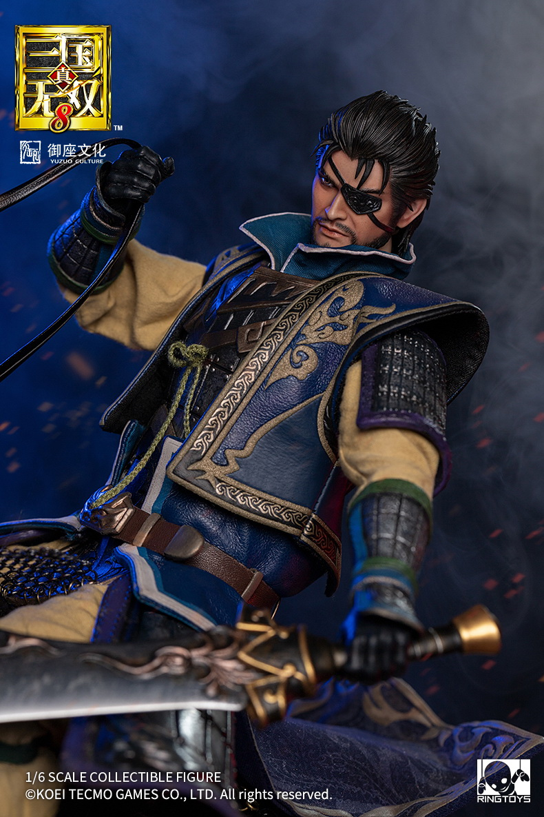 "NEW PRODUCT: RingToys: 1/6 ""True. Three Kingdoms Warriors 8"" series - Xiahou Yi action figure 16471511"