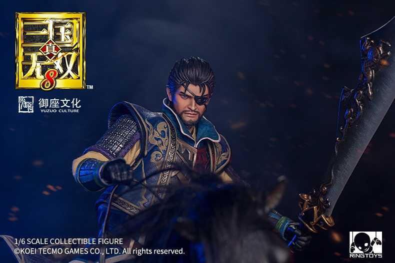 "NEW PRODUCT: RingToys: 1/6 ""True. Three Kingdoms Warriors 8"" series - Xiahou Yi action figure 16472211"