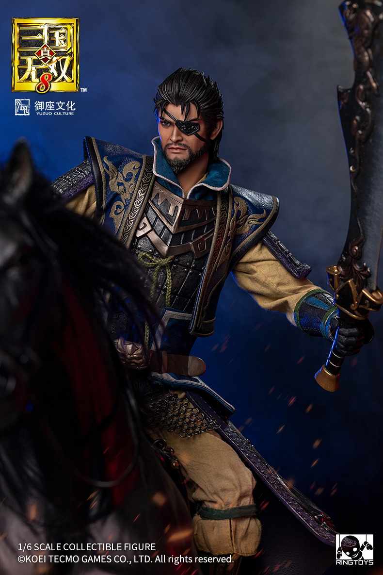 "NEW PRODUCT: RingToys: 1/6 ""True. Three Kingdoms Warriors 8"" series - Xiahou Yi action figure 16473511"