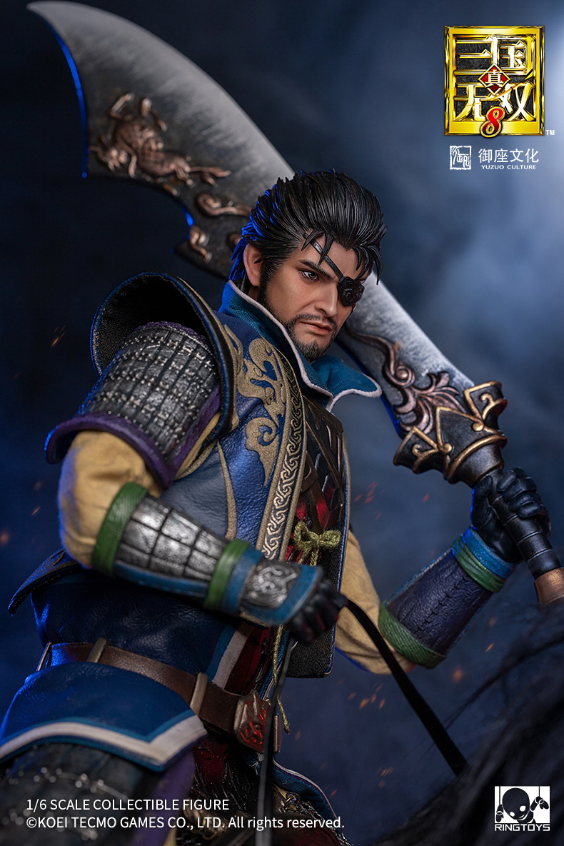 "male - NEW PRODUCT: RingToys: 1/6 scale Three Kingdoms Warriors 8"" series - Xiahou Yi figure 16474810"