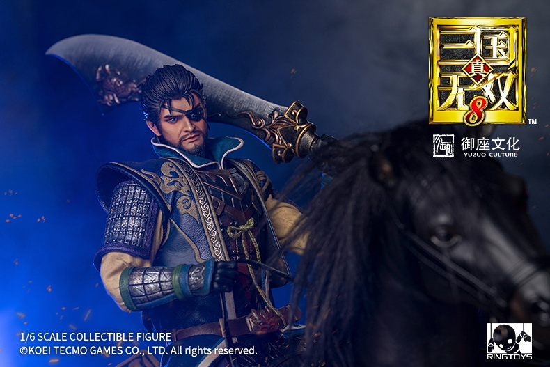 "male - NEW PRODUCT: RingToys: 1/6 scale Three Kingdoms Warriors 8"" series - Xiahou Yi figure 16475510"