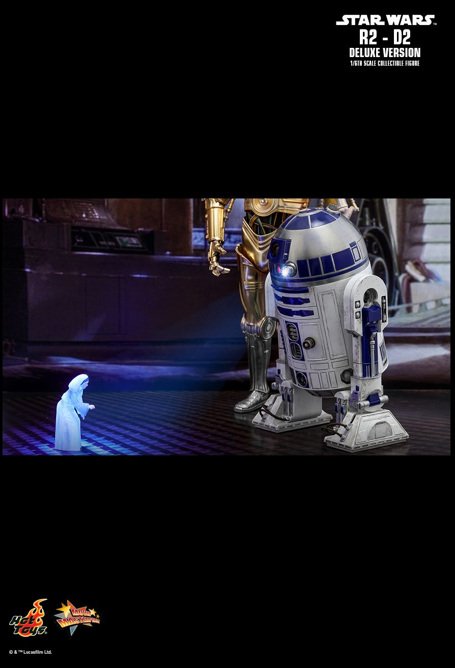 NEW PRODUCT: HOT TOYS: STAR WARS R2-D2 DELUXE VERSION 1/6TH SCALE COLLECTIBLE FIGURE 1648