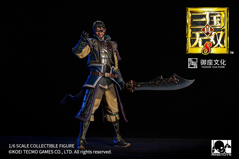 "male - NEW PRODUCT: RingToys: 1/6 scale Three Kingdoms Warriors 8"" series - Xiahou Yi figure 16493510"