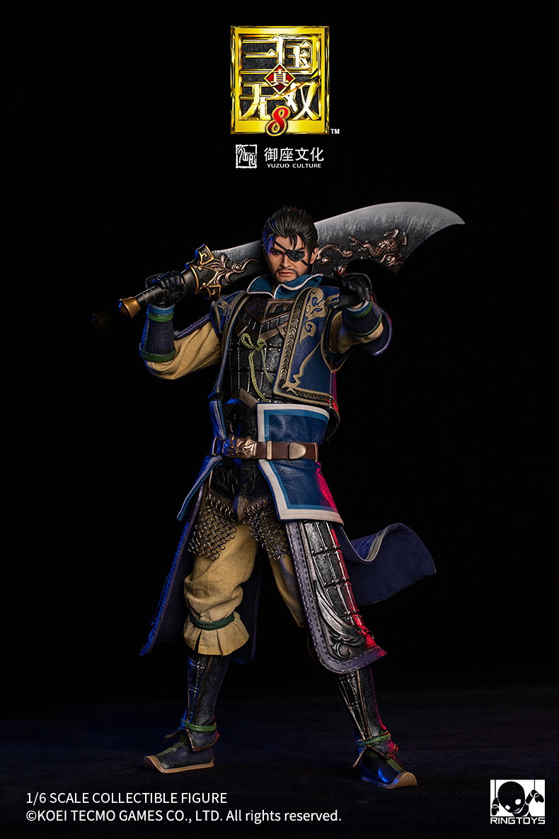 "male - NEW PRODUCT: RingToys: 1/6 scale Three Kingdoms Warriors 8"" series - Xiahou Yi figure 16493910"