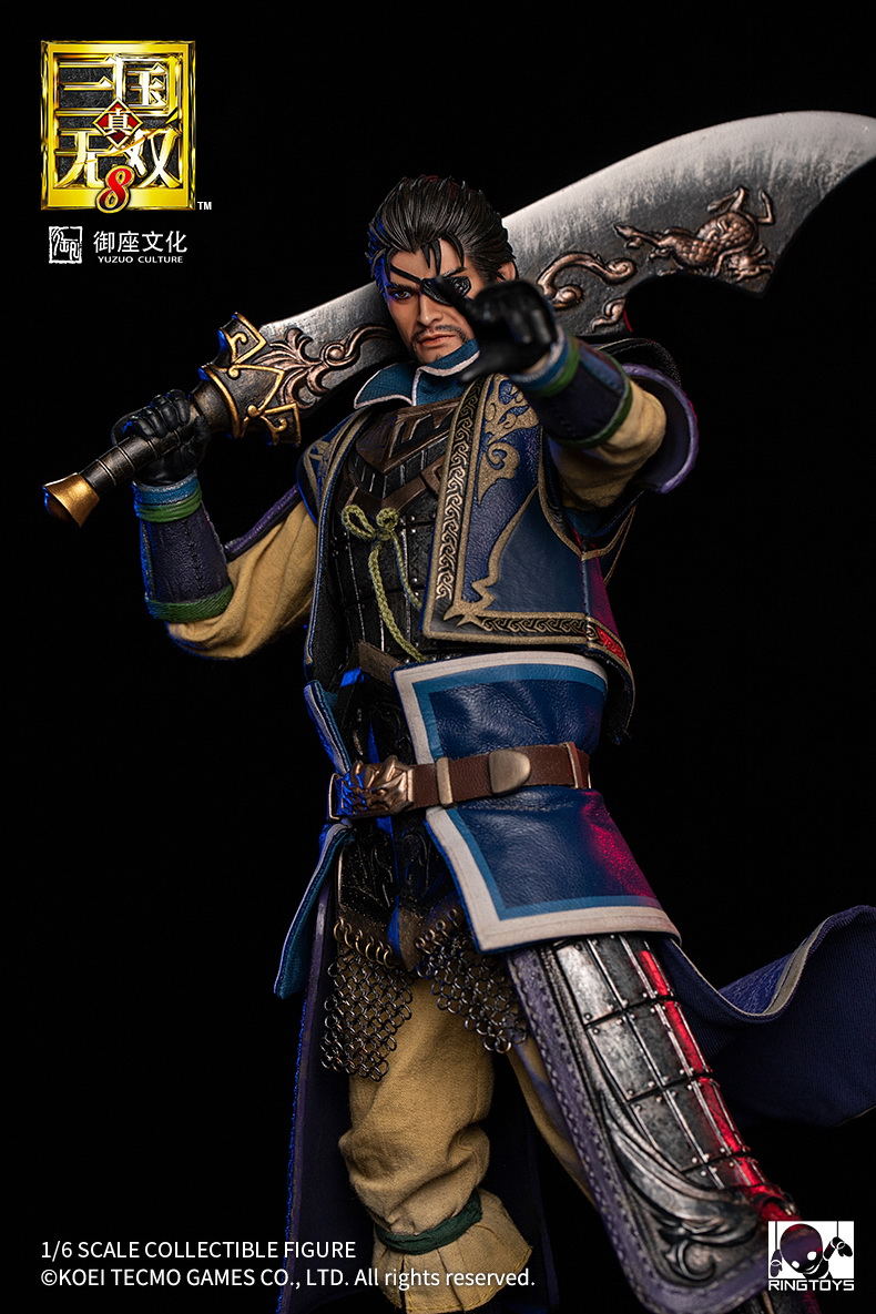 "NEW PRODUCT: RingToys: 1/6 ""True. Three Kingdoms Warriors 8"" series - Xiahou Yi action figure 16494411"