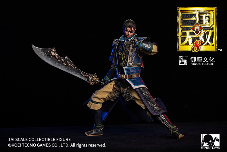 "male - NEW PRODUCT: RingToys: 1/6 scale Three Kingdoms Warriors 8"" series - Xiahou Yi figure 16500410"