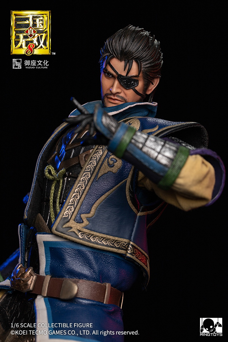 "male - NEW PRODUCT: RingToys: 1/6 scale Three Kingdoms Warriors 8"" series - Xiahou Yi figure 16500910"