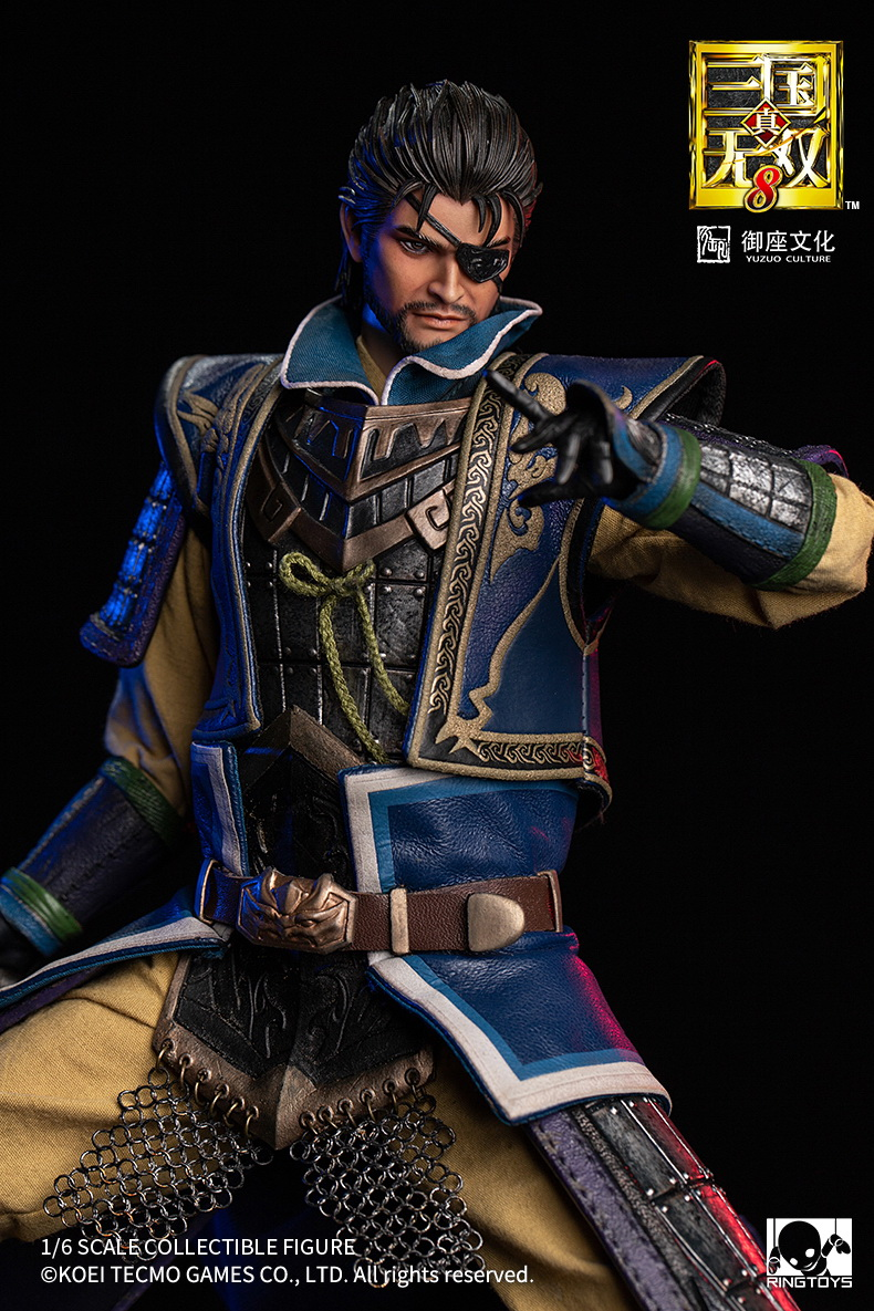 "NEW PRODUCT: RingToys: 1/6 ""True. Three Kingdoms Warriors 8"" series - Xiahou Yi action figure 16501712"