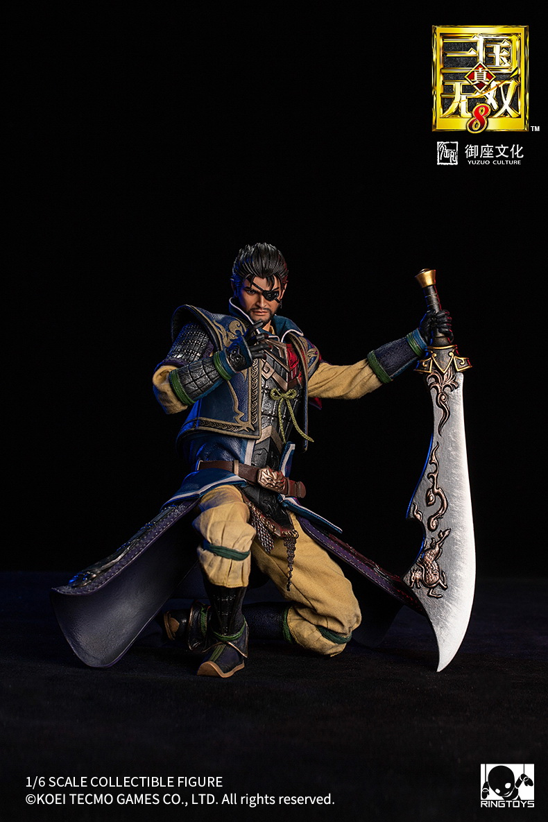 "NEW PRODUCT: RingToys: 1/6 ""True. Three Kingdoms Warriors 8"" series - Xiahou Yi action figure 16502411"