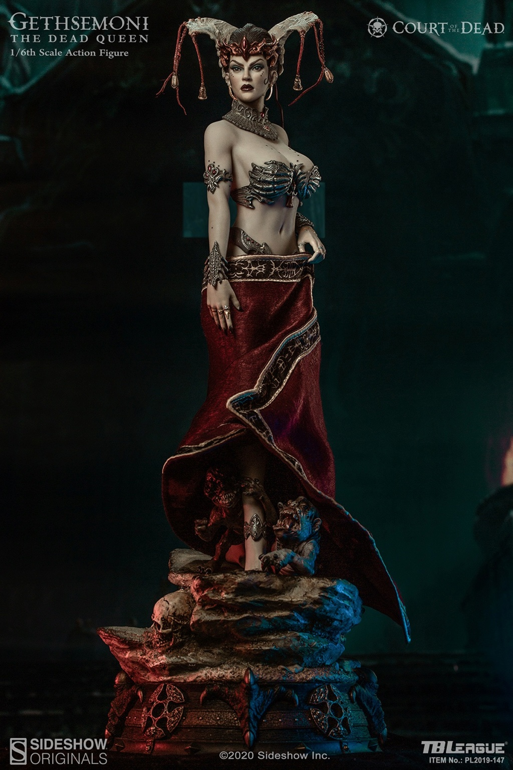 sideshow - NEW PRODUCT: Tbleague x SIDESHOW New: 1/6 Court of the Dead: Gethsemoni The Dead Queen action figure (PL2019-147) 16502510
