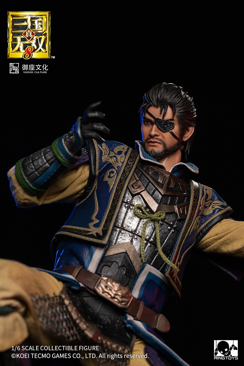 "NEW PRODUCT: RingToys: 1/6 ""True. Three Kingdoms Warriors 8"" series - Xiahou Yi action figure 16503511"