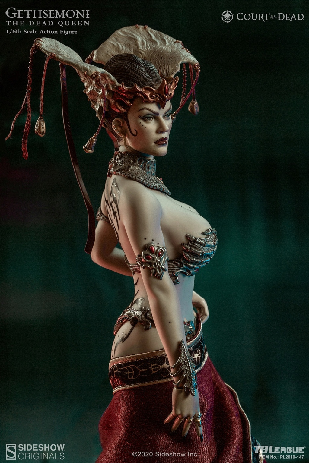sideshow - NEW PRODUCT: Tbleague x SIDESHOW New: 1/6 Court of the Dead: Gethsemoni The Dead Queen action figure (PL2019-147) 16503512