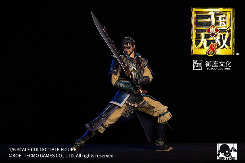 "NEW PRODUCT: RingToys: 1/6 ""True. Three Kingdoms Warriors 8"" series - Xiahou Yi action figure 16504911"