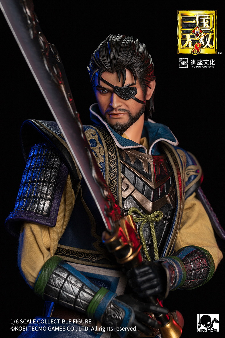 "male - NEW PRODUCT: RingToys: 1/6 scale Three Kingdoms Warriors 8"" series - Xiahou Yi figure 16505410"