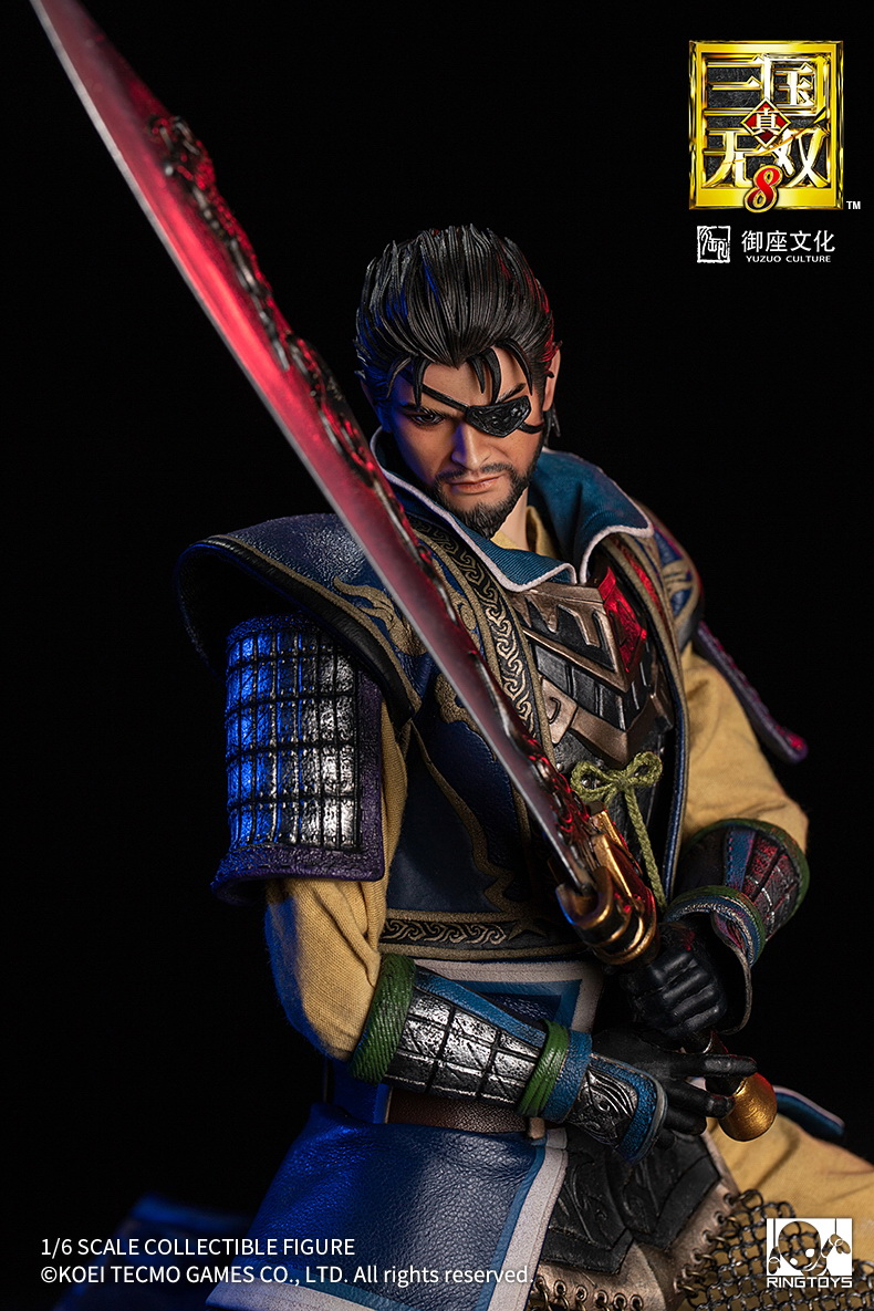 "male - NEW PRODUCT: RingToys: 1/6 scale Three Kingdoms Warriors 8"" series - Xiahou Yi figure 16510010"