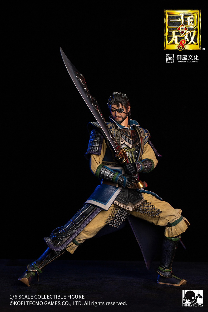 "male - NEW PRODUCT: RingToys: 1/6 scale Three Kingdoms Warriors 8"" series - Xiahou Yi figure 16510410"