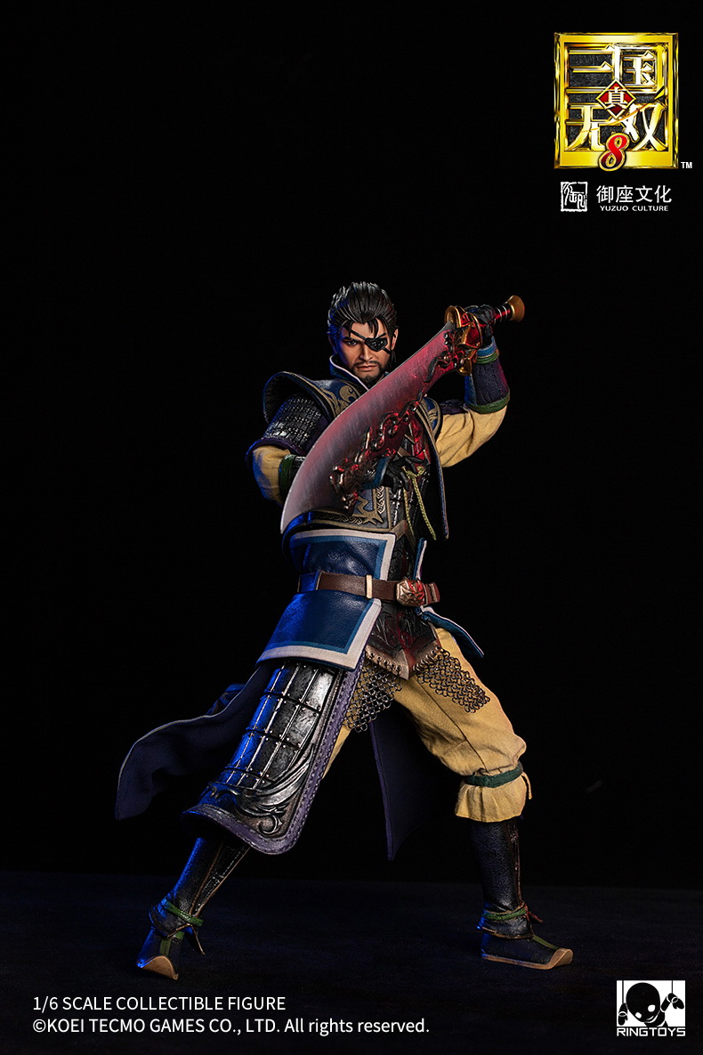 "male - NEW PRODUCT: RingToys: 1/6 scale Three Kingdoms Warriors 8"" series - Xiahou Yi figure 16510910"