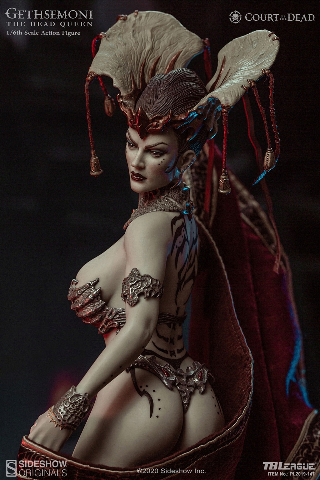 sideshow - NEW PRODUCT: Tbleague x SIDESHOW New: 1/6 Court of the Dead: Gethsemoni The Dead Queen action figure (PL2019-147) 16511210