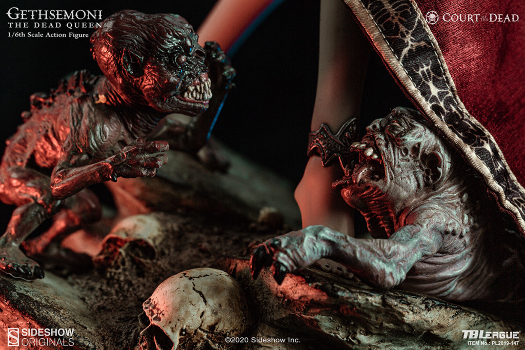 sideshow - NEW PRODUCT: Tbleague x SIDESHOW New: 1/6 Court of the Dead: Gethsemoni The Dead Queen action figure (PL2019-147) 16514010