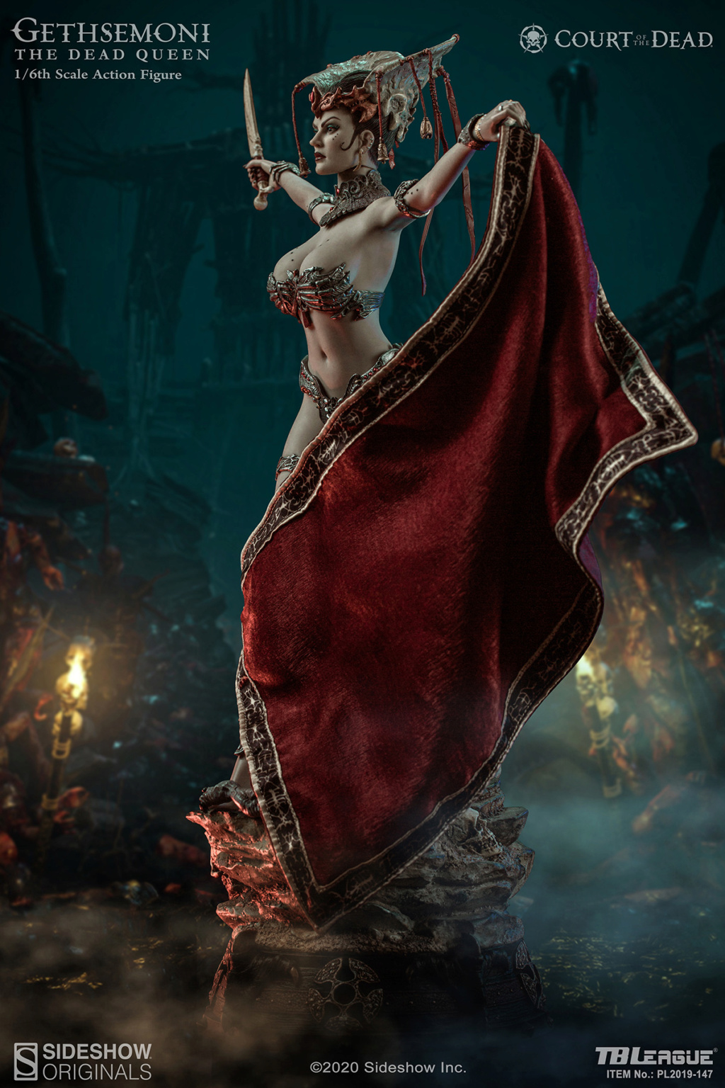 sideshow - NEW PRODUCT: Tbleague x SIDESHOW New: 1/6 Court of the Dead: Gethsemoni The Dead Queen action figure (PL2019-147) 16515910