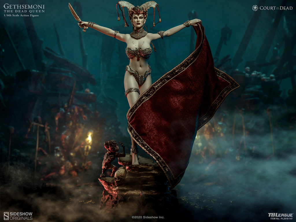 sideshow - NEW PRODUCT: Tbleague x SIDESHOW New: 1/6 Court of the Dead: Gethsemoni The Dead Queen action figure (PL2019-147) 16520510