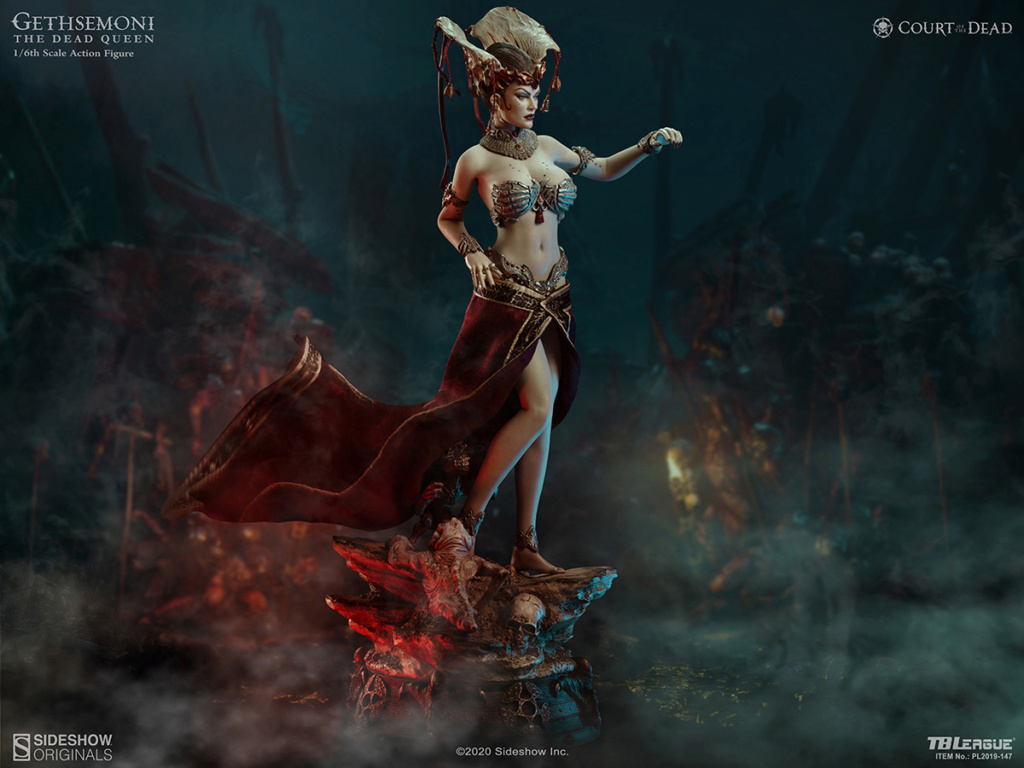 sideshow - NEW PRODUCT: Tbleague x SIDESHOW New: 1/6 Court of the Dead: Gethsemoni The Dead Queen action figure (PL2019-147) 16521210