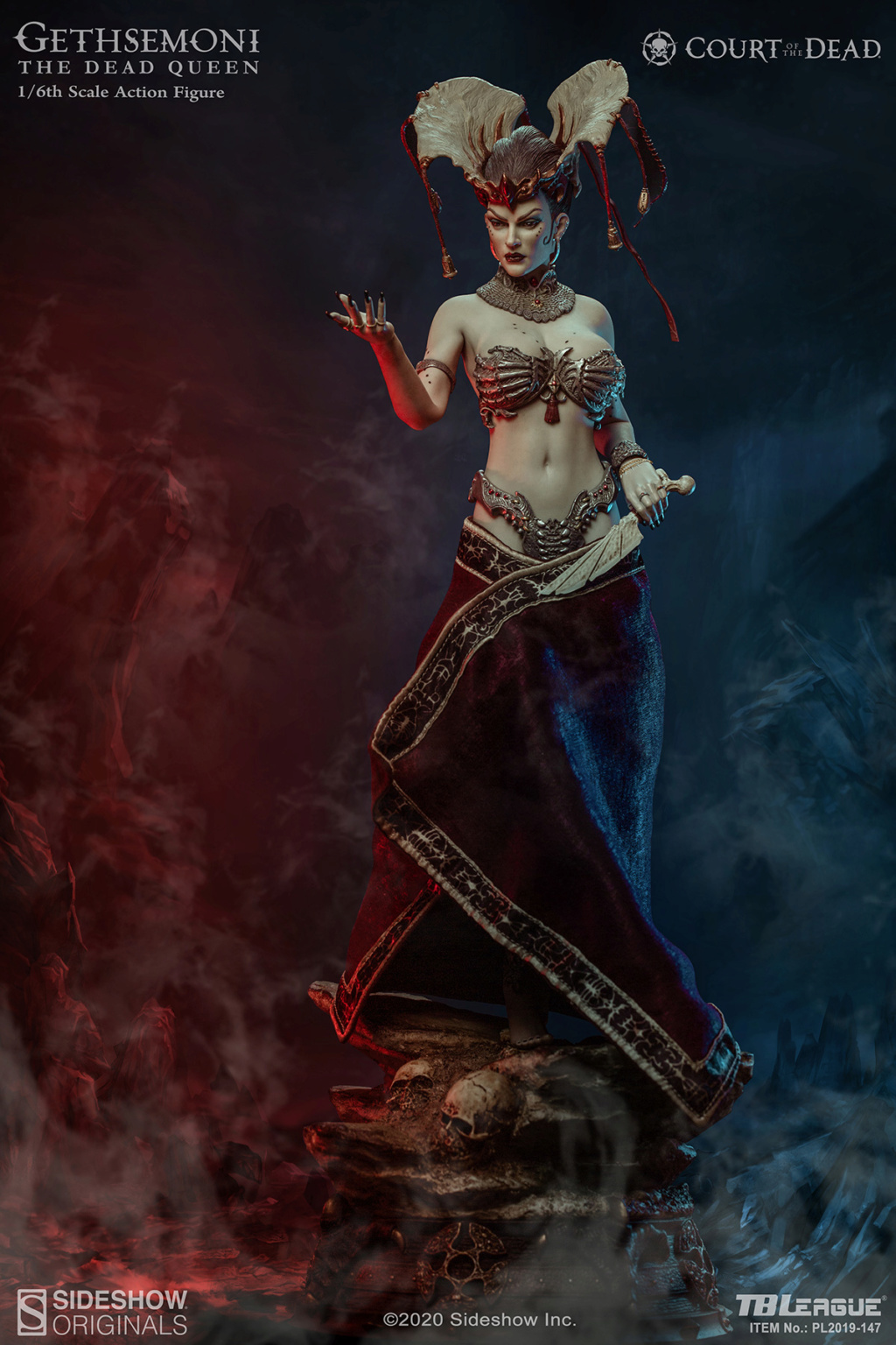 sideshow - NEW PRODUCT: Tbleague x SIDESHOW New: 1/6 Court of the Dead: Gethsemoni The Dead Queen action figure (PL2019-147) 16522110