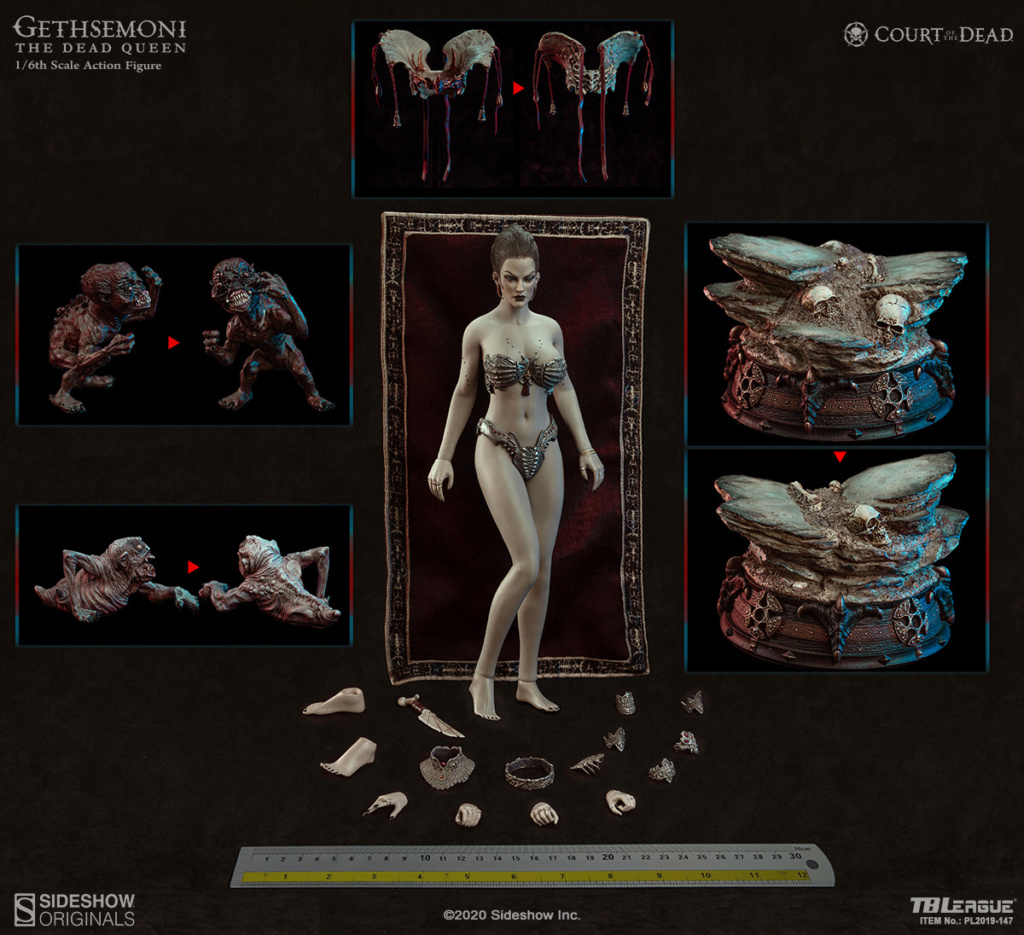 sideshow - NEW PRODUCT: Tbleague x SIDESHOW New: 1/6 Court of the Dead: Gethsemoni The Dead Queen action figure (PL2019-147) 16522910
