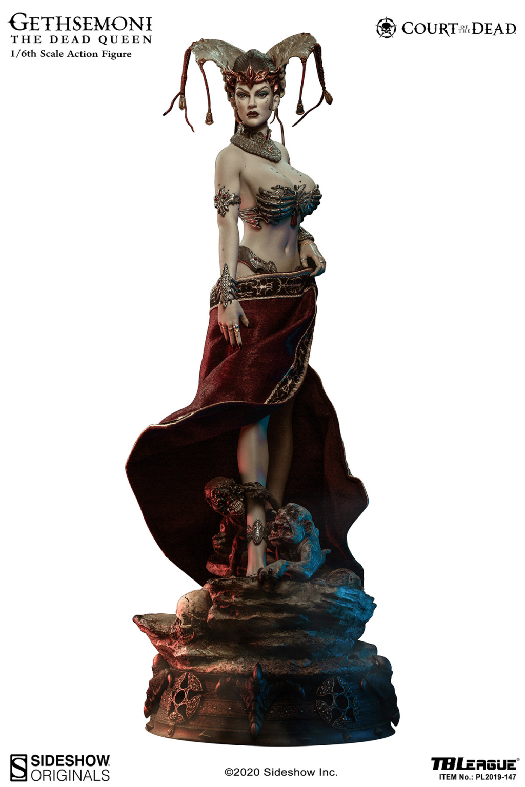 sideshow - NEW PRODUCT: Tbleague x SIDESHOW New: 1/6 Court of the Dead: Gethsemoni The Dead Queen action figure (PL2019-147) 16523610