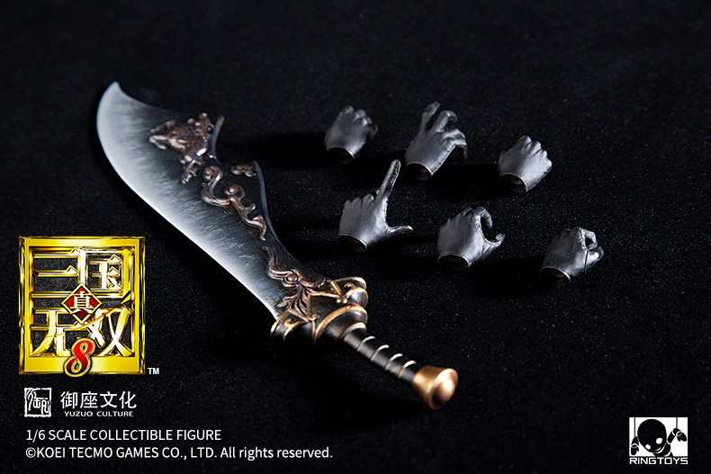 "NEW PRODUCT: RingToys: 1/6 ""True. Three Kingdoms Warriors 8"" series - Xiahou Yi action figure 16524311"