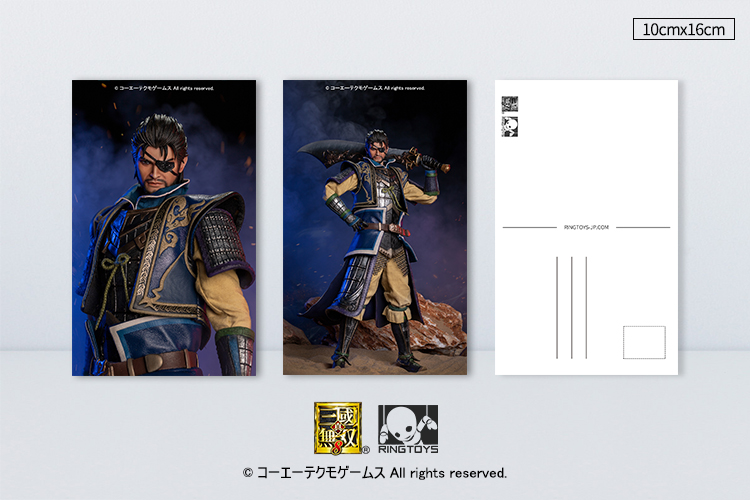 "male - NEW PRODUCT: RingToys: 1/6 scale Three Kingdoms Warriors 8"" series - Xiahou Yi figure 16530810"
