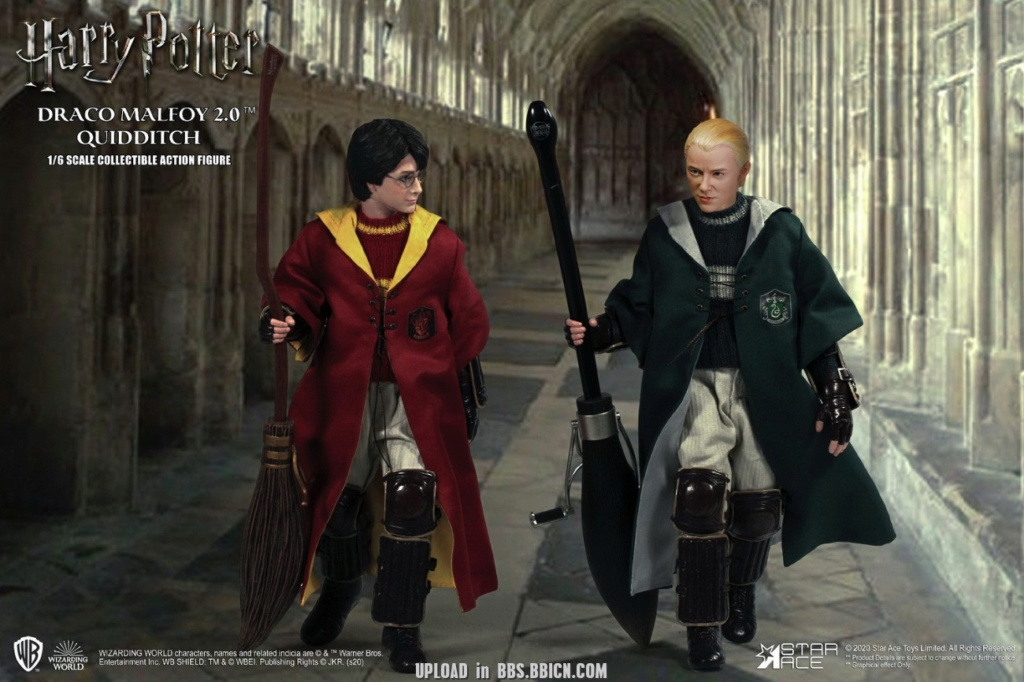 DracoMalfoy2 - NEW PRODUCT: STAR ACE Toys: 1/6 Harry Potter + Malfoy 2.0 Playing Set & Single & Uniform Edition 16591810