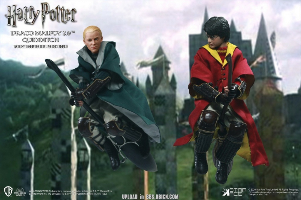 DracoMalfoy2 - NEW PRODUCT: STAR ACE Toys: 1/6 Harry Potter + Malfoy 2.0 Playing Set & Single & Uniform Edition 16592110