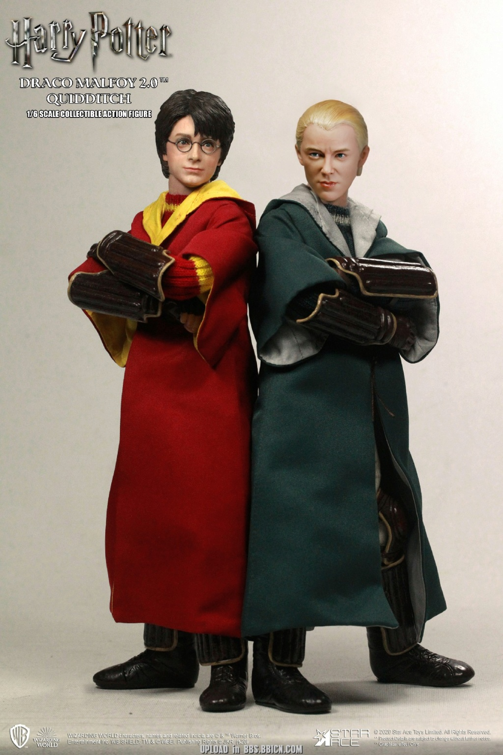 DracoMalfoy2 - NEW PRODUCT: STAR ACE Toys: 1/6 Harry Potter + Malfoy 2.0 Playing Set & Single & Uniform Edition 16592410