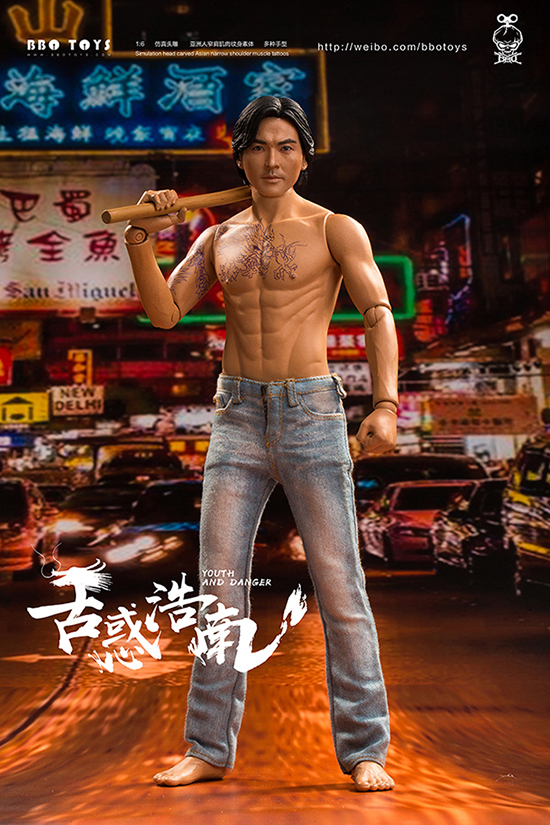 NEW PRODUCT: BBO TOYS YOUTH AND DANGER - BROTHER HO NAM 1/6 SCALE ACTION FIGURE (TWO BODIES) 16595410